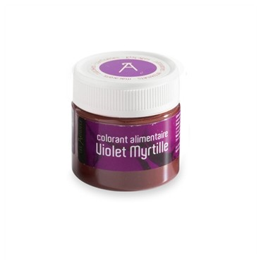 Colorant alimentaire violet myrtille (10 gr)