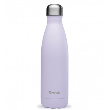 Bouteille Isotherme Pastel Lilas - Qwetch