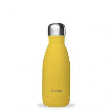 Bouteille Isotherme Pop Jaune - Qwetch